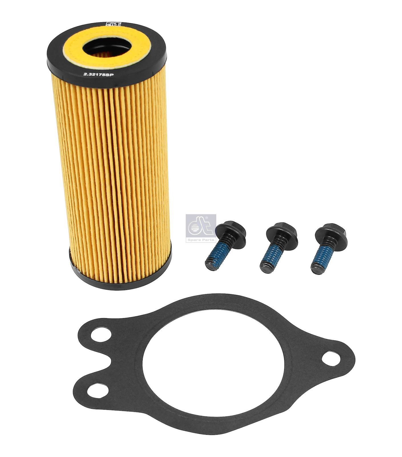 Oil filter kit, gearbox