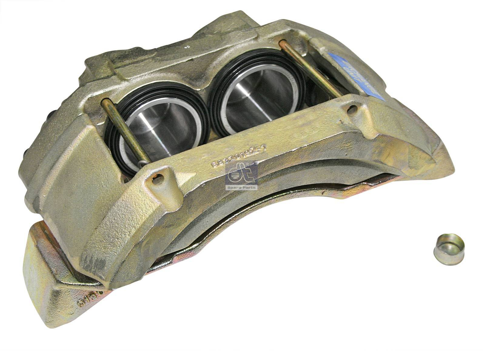 Brake caliper, left, reman. / without old core