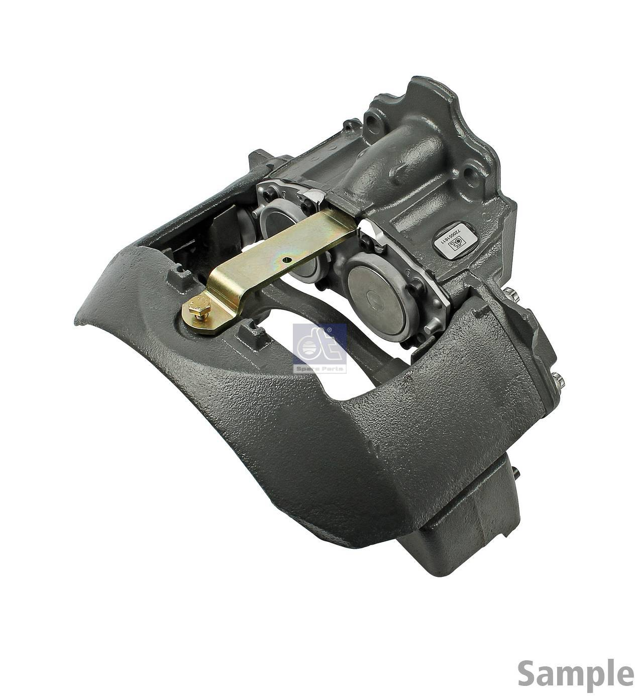 Brake caliper, right, reman. / without old core