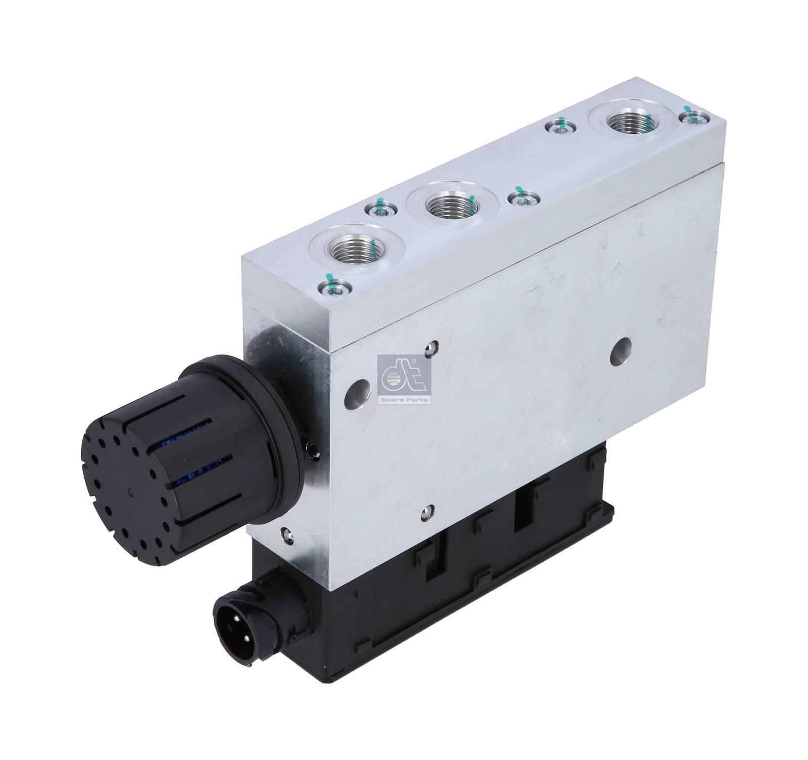 Solenoid valve, level control