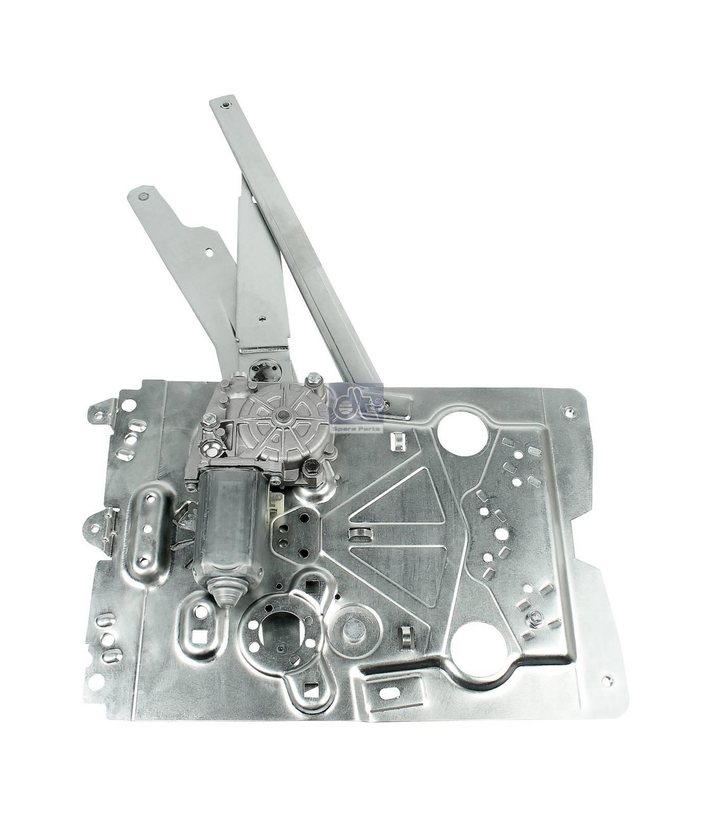 Стеклоподъемник, прав., электрич., с двигателем
