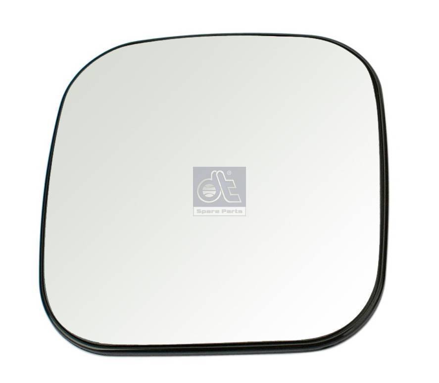 Mirror glass, wide view mirror, unheated