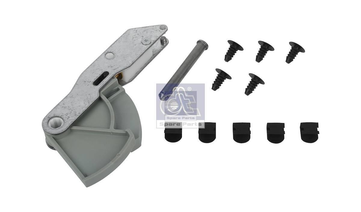 Leveling valve arm, seat