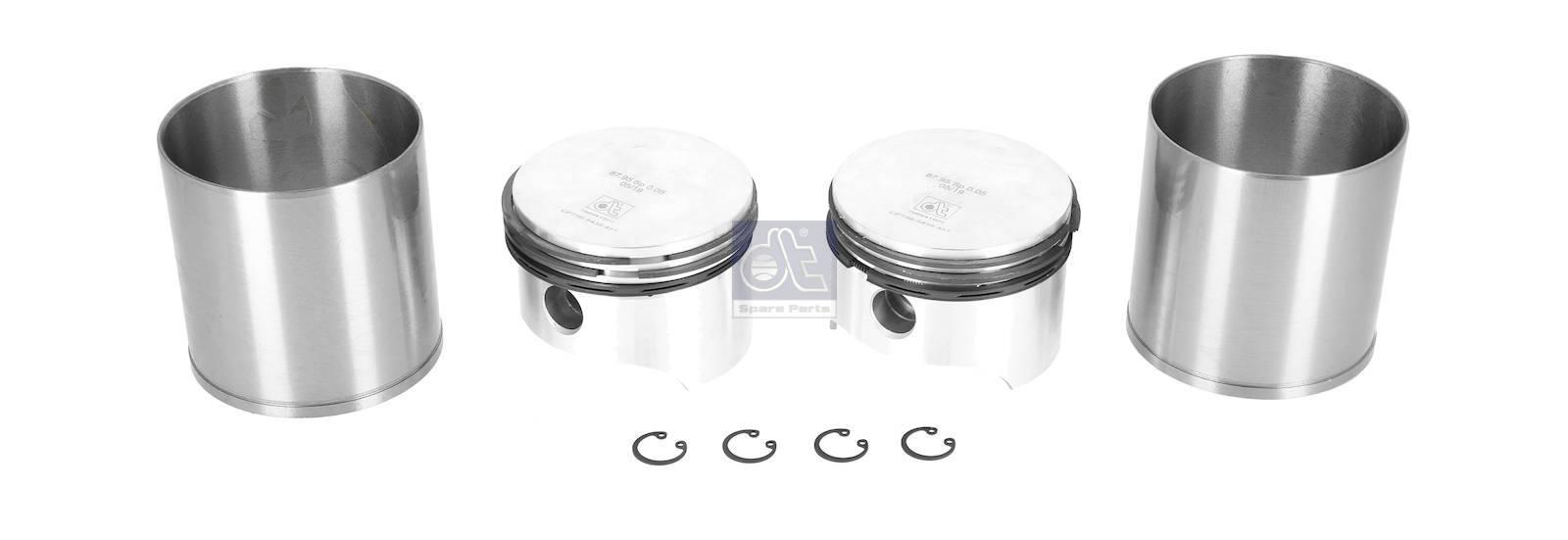 Kit canna di cilindro, compressore