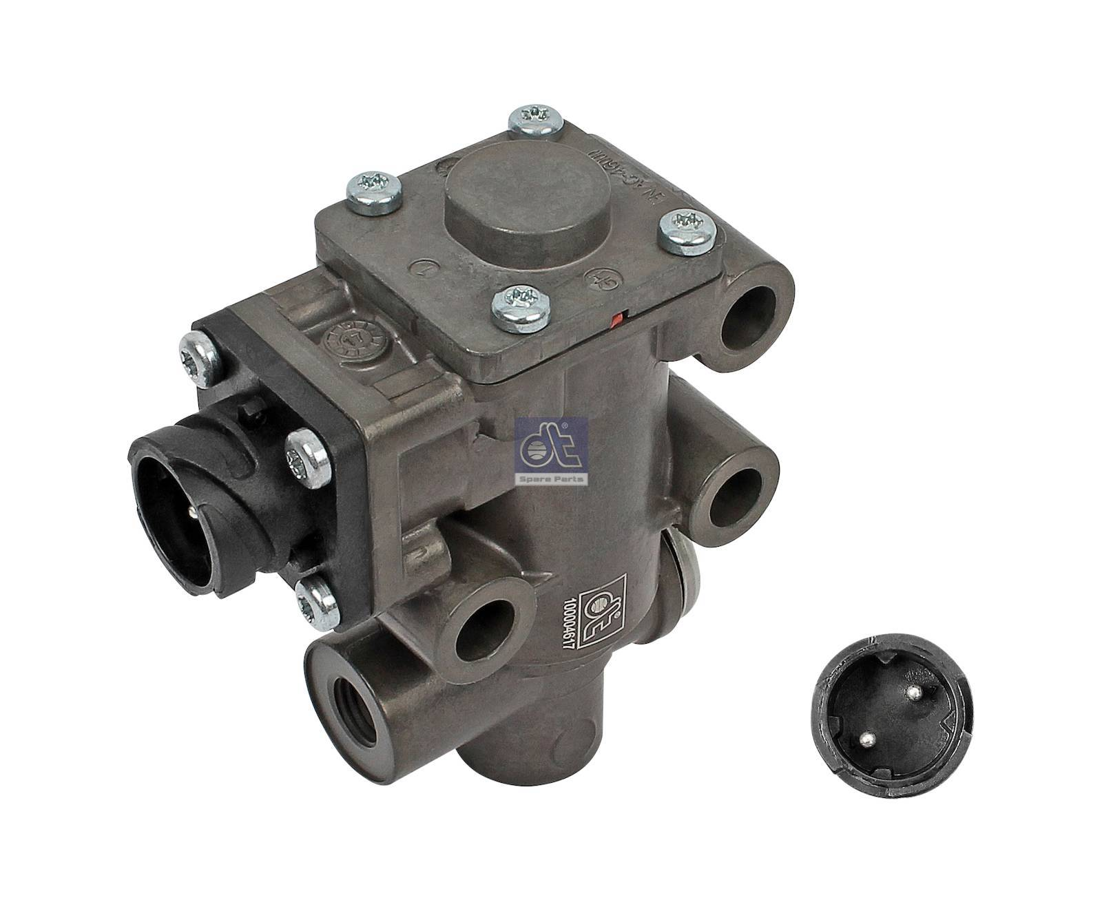 Solenoid valve, exhaust gas recirculation
