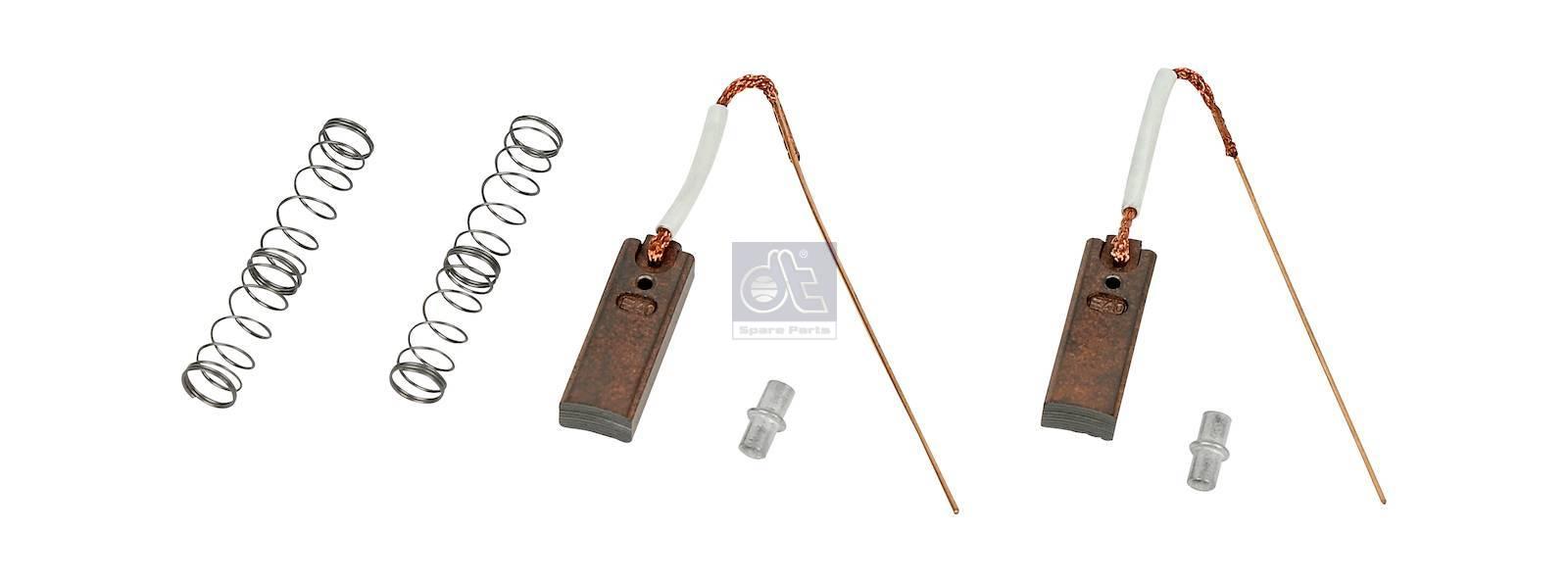 DT 3 34101 Carbon brush set, alternator suitable for Alfa Romeo, DAF