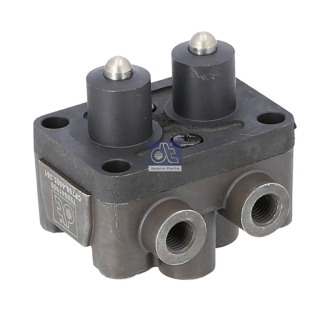 357972762 Genuine VW 2 Pin Flat Connector Housing Male Terminal