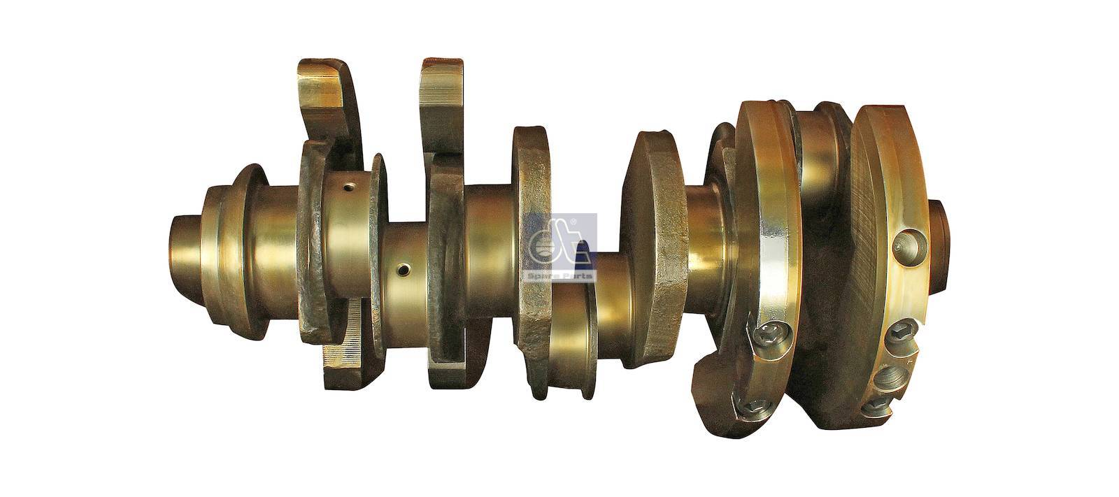 Crankshaft, without bearings