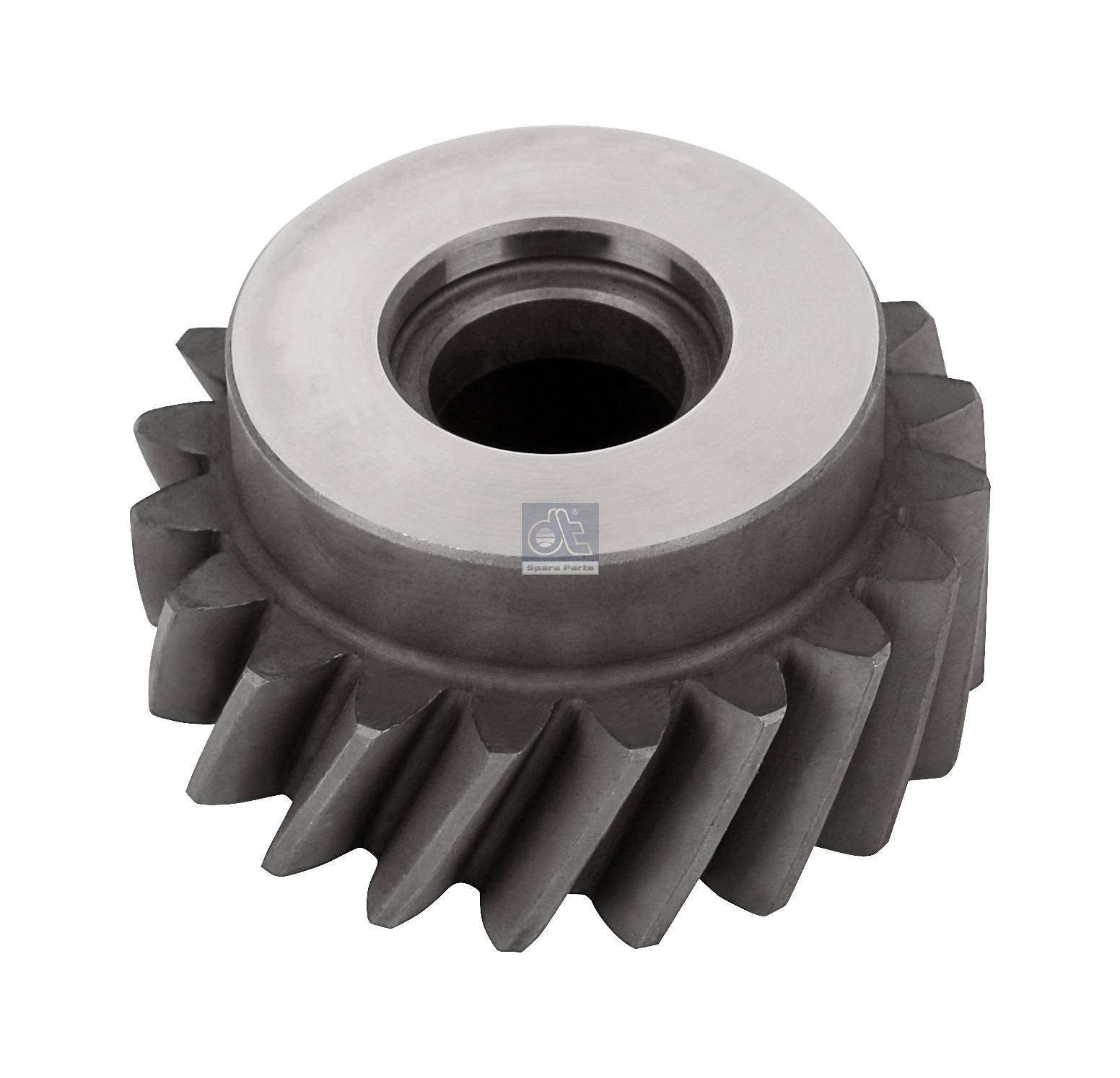 Drive gear, crankshaft, compressor