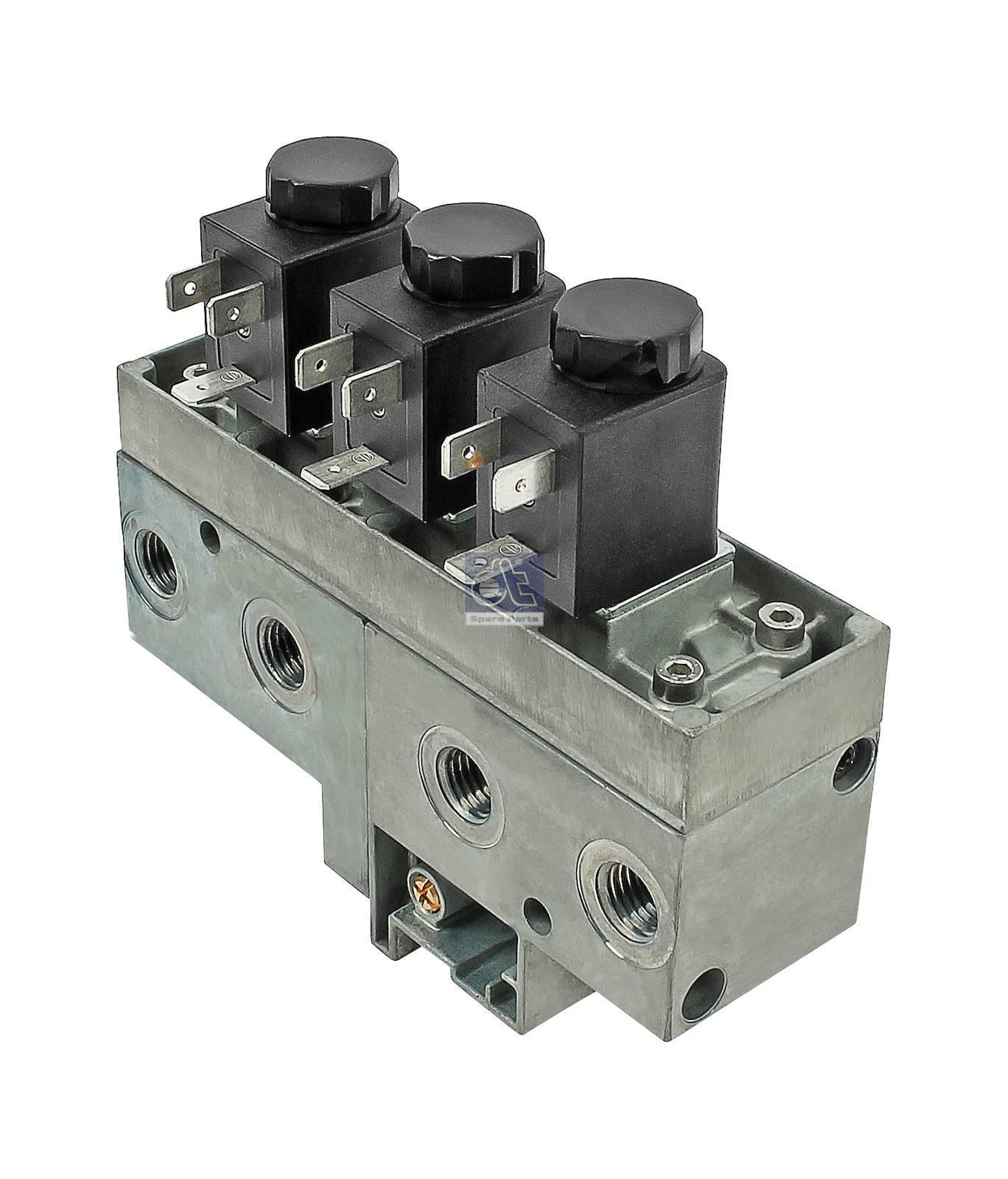 Solenoid valve, MTS