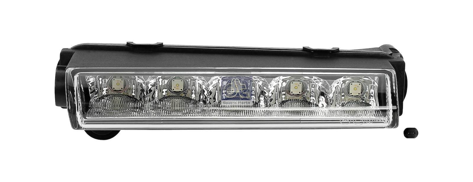 Daytime running light, left