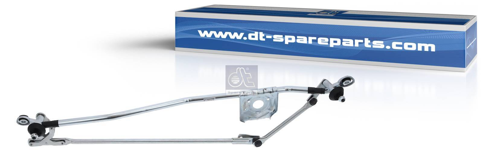 Wiper linkage, without wiper motor