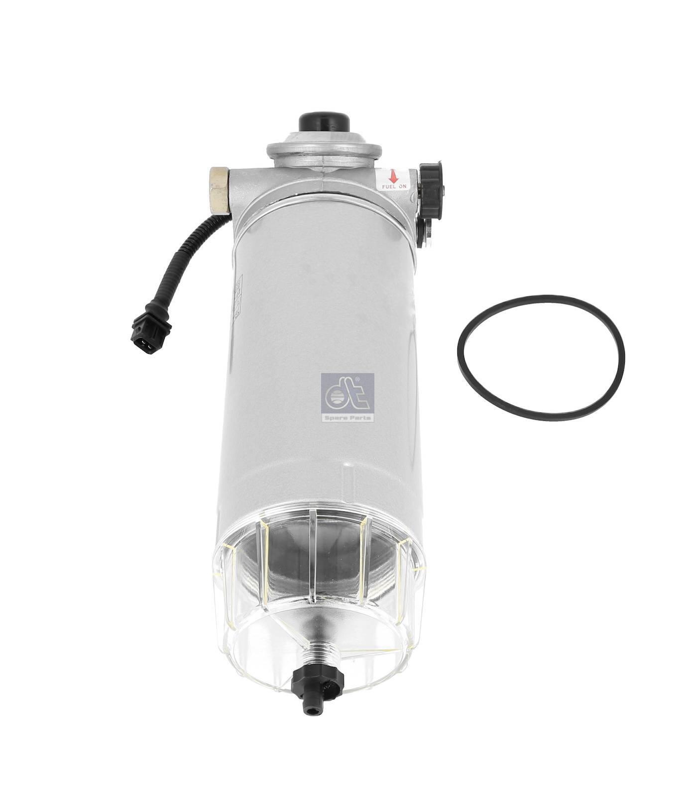 Separador d'água, completo, aquecido