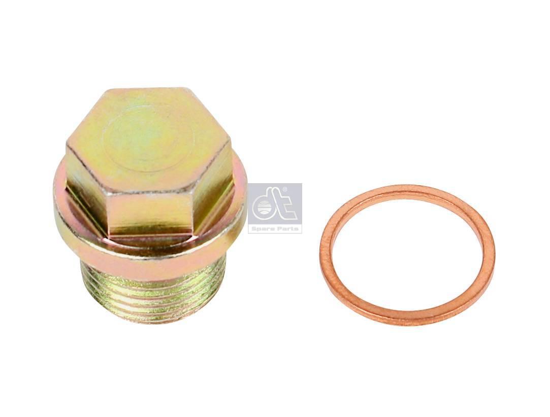 Parafuso de fecho, com anel vedação