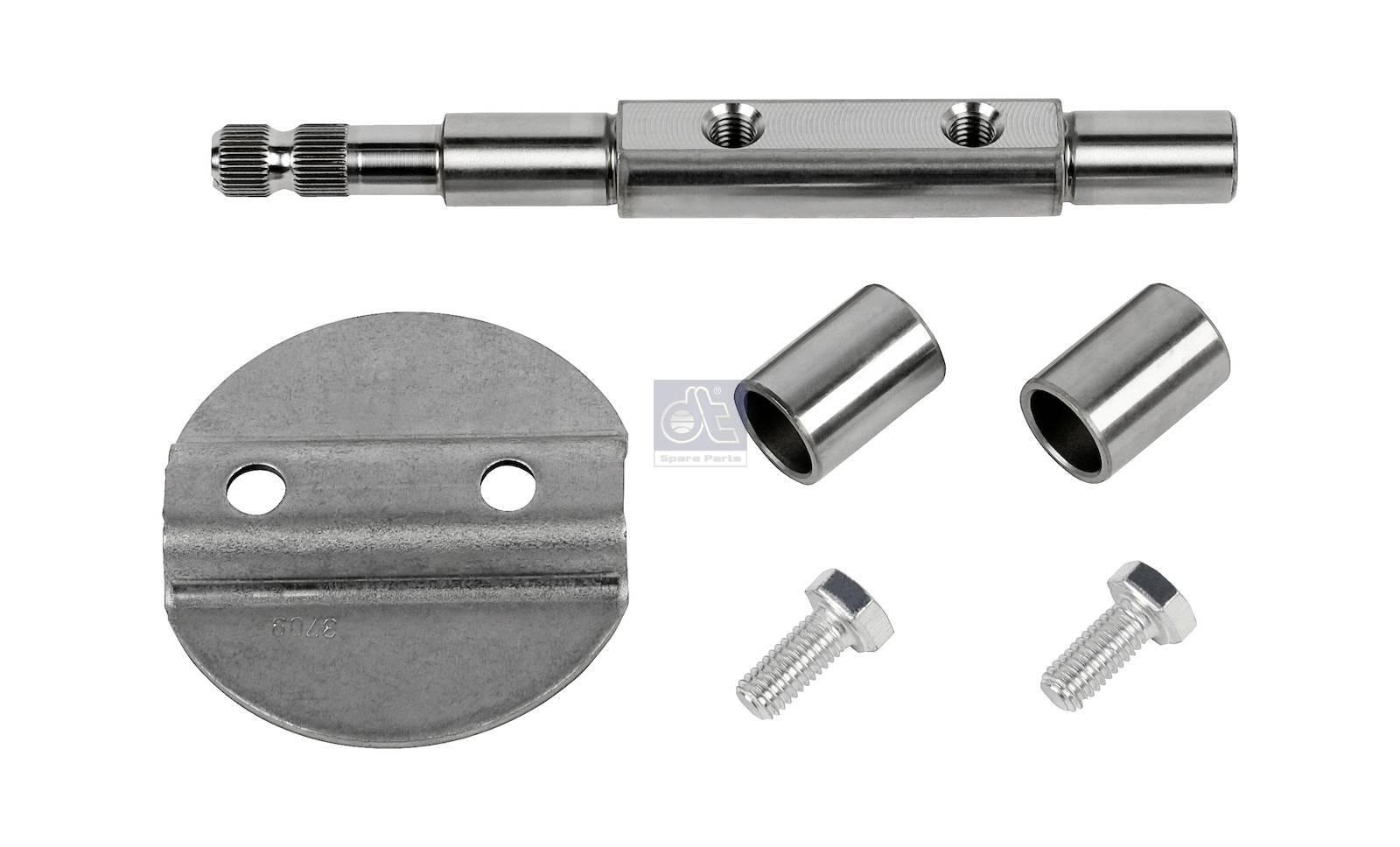 Throttle kit, stainless steel