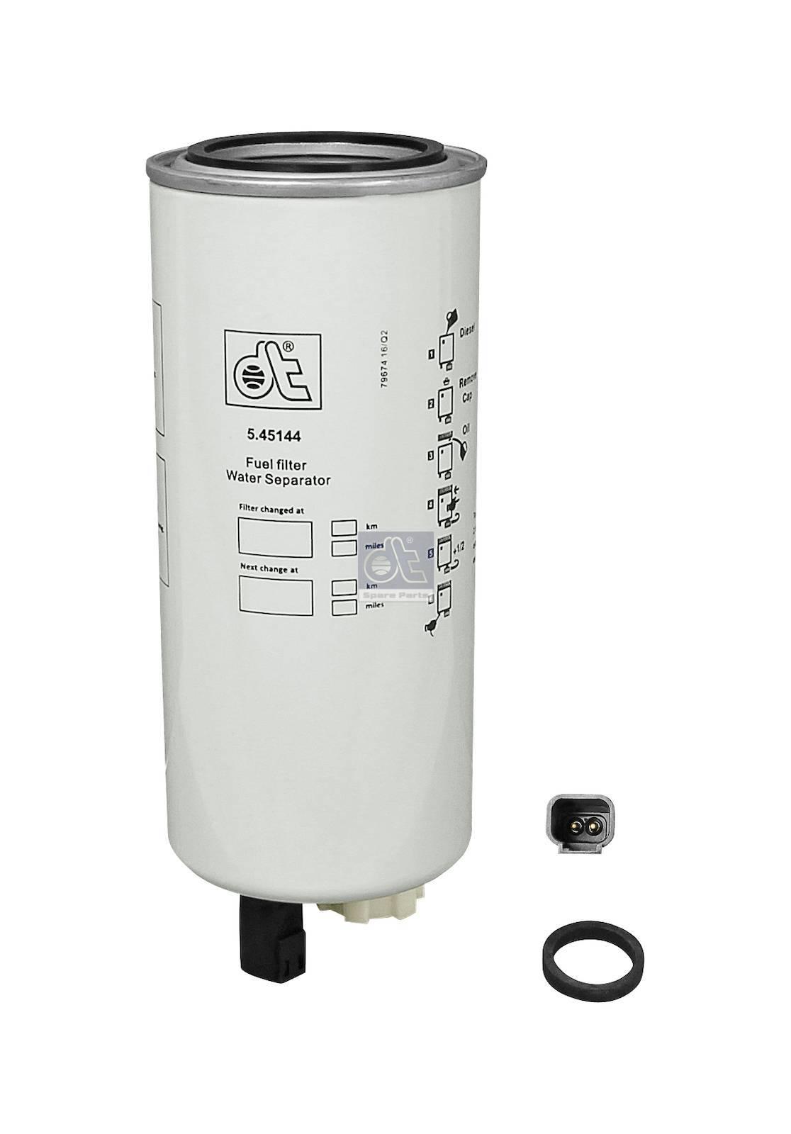 Filtro de combustível, separador d'água