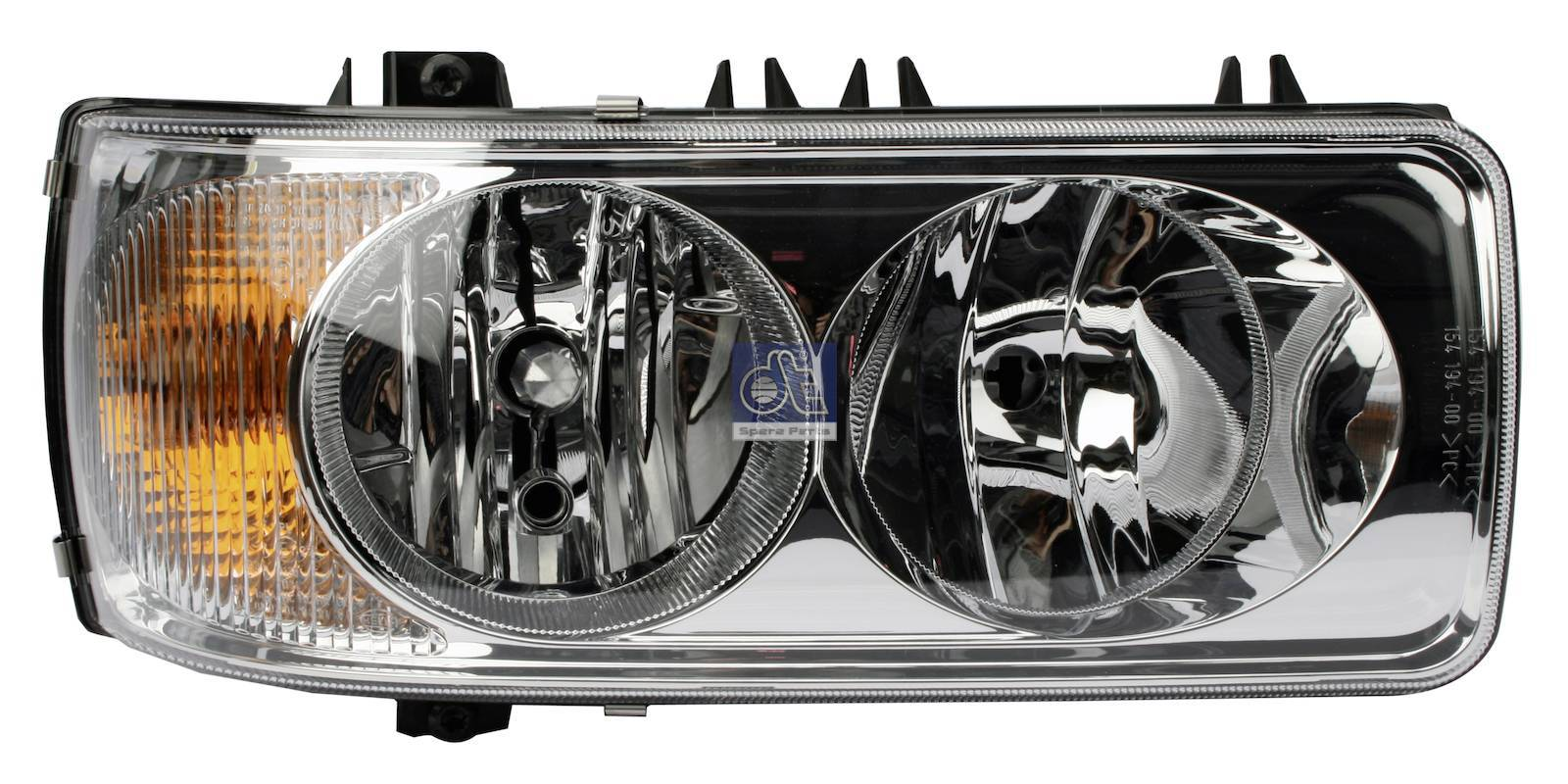 Headlamp, right, mechanical height control