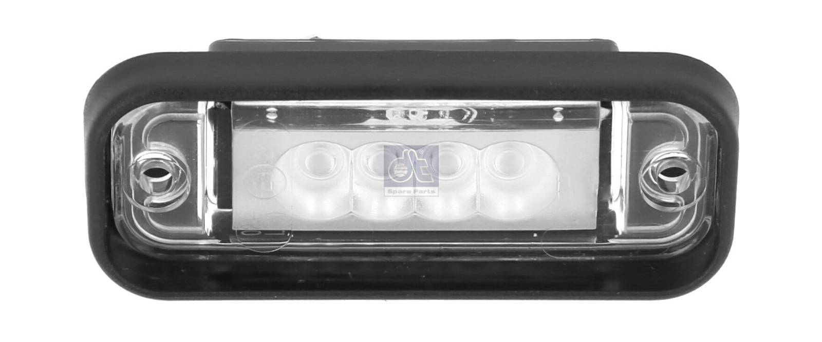 License plate lamp, LED