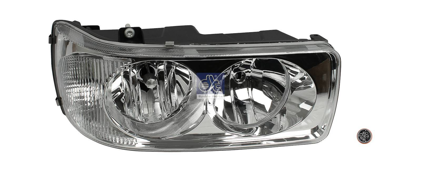 Headlamp, left, mechanical height control