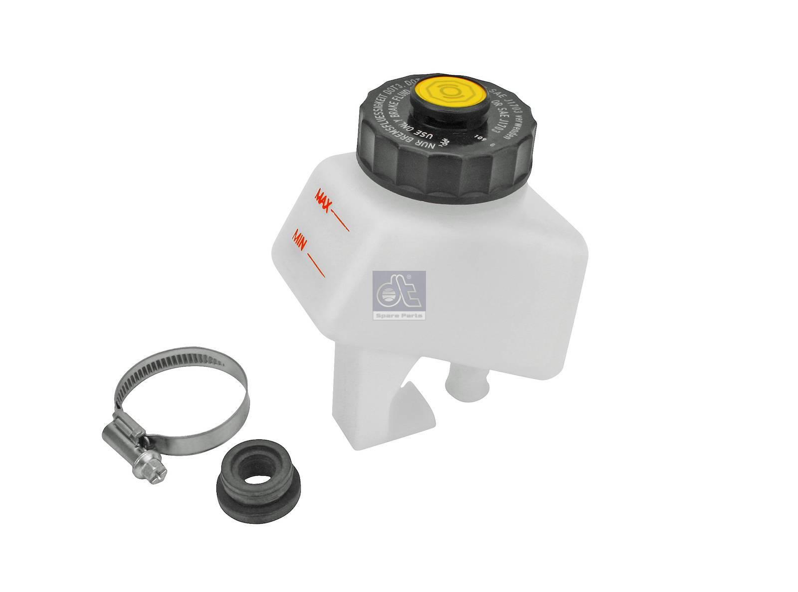 Serbatoio, cilindro operatore frizione