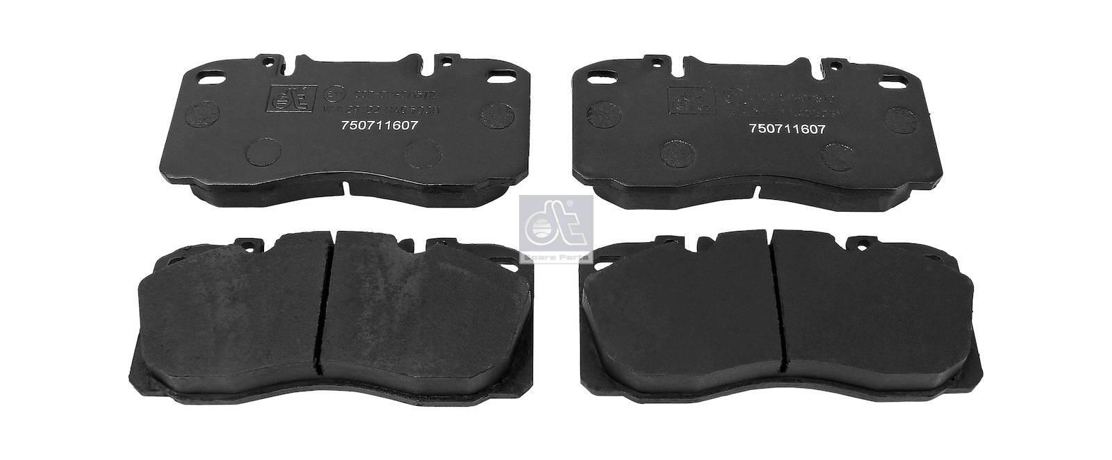 Disc brake pad kit