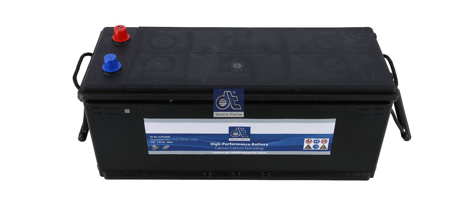 Startbatterij, afgedicht, onderhoudsvrij