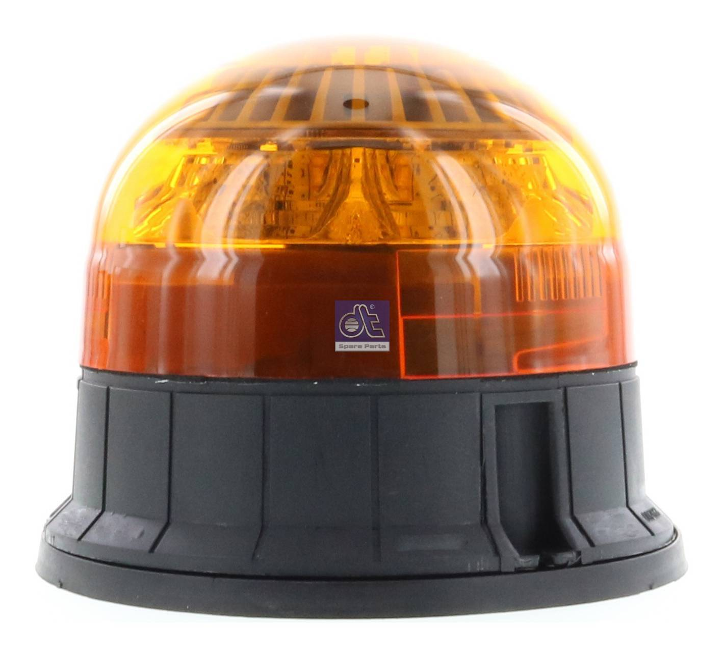 Rotating emergency lamp, orange