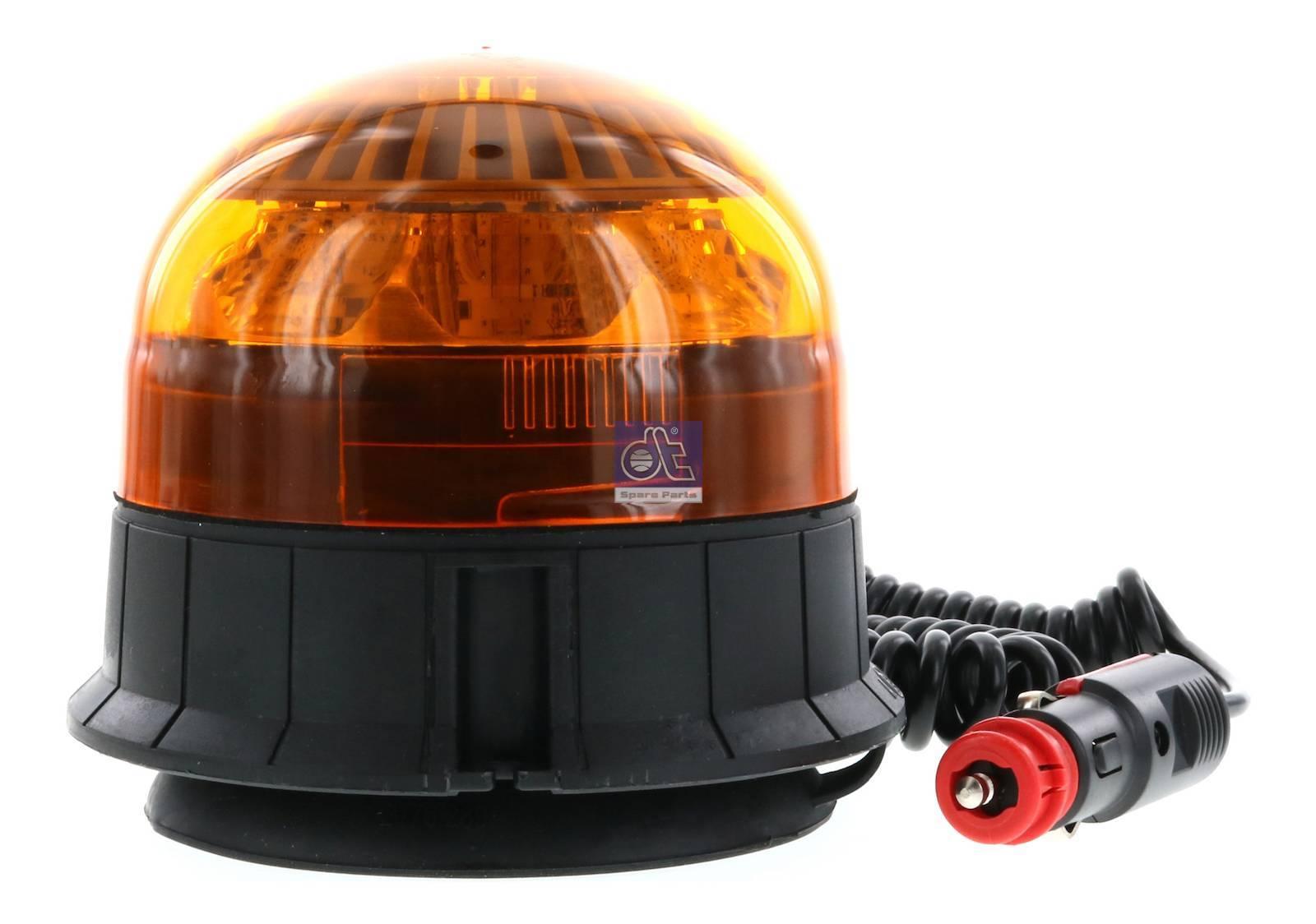Luz omnidireccional, naranja, magnética
