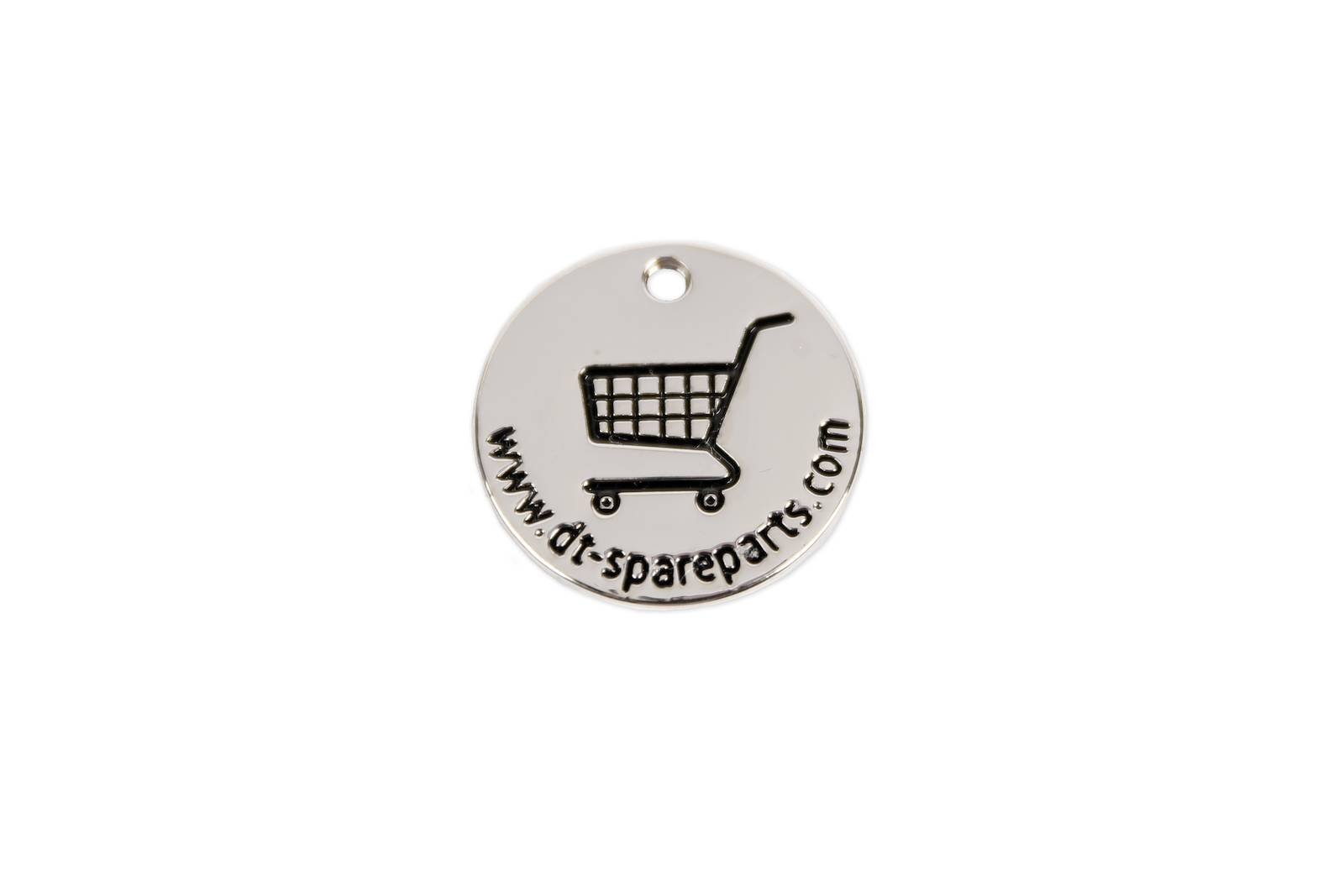 Shopping trolley chip