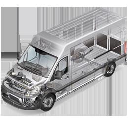 Transporter onderdelen